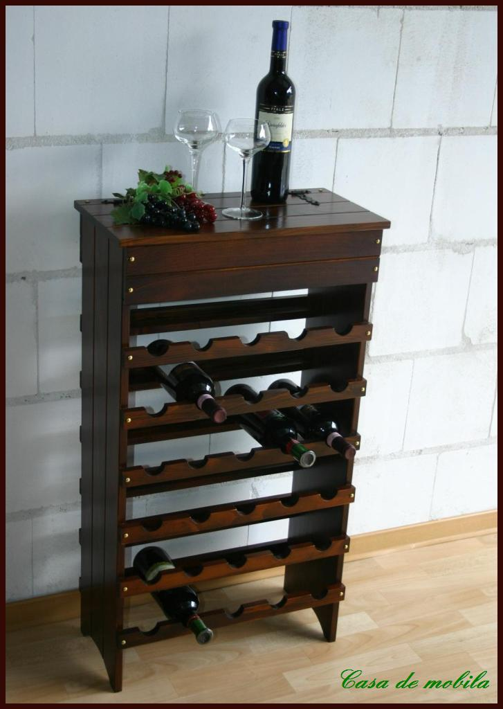 weinregal weinschrank kiefer wine rack fichte massiv ebay. Black Bedroom Furniture Sets. Home Design Ideas