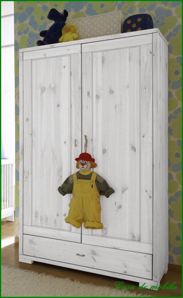 MASSIVHOLZ KINDERZIMMER Kleiderschrank Babyzimmer Komplett Kiefer ...