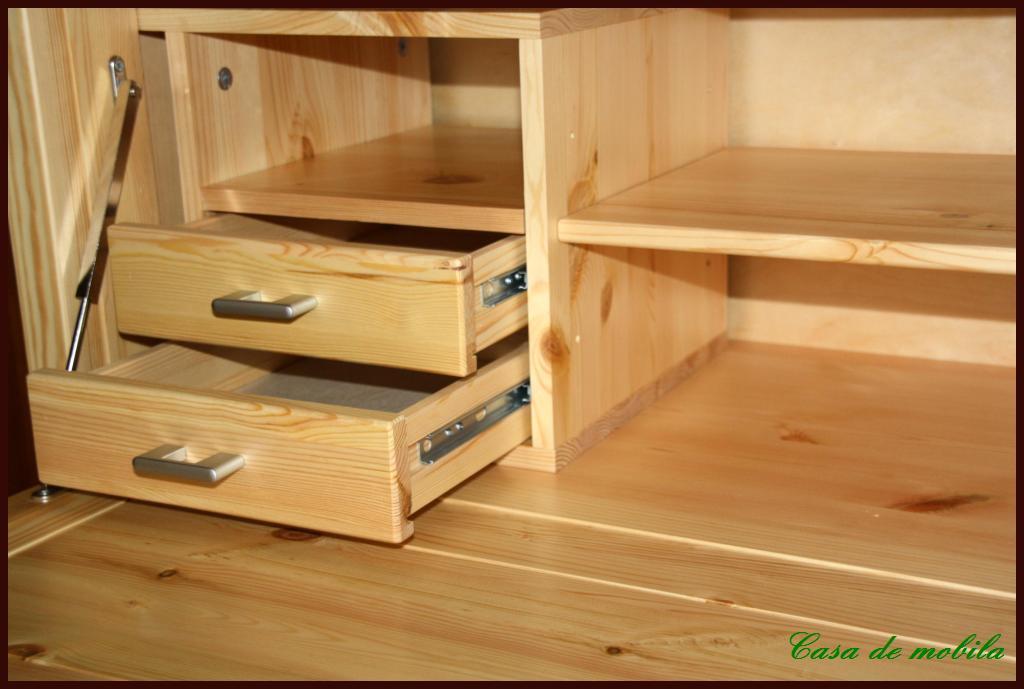 massivholz sekret r kiefer pc kommode schreib schrank computer holz massiv ebay. Black Bedroom Furniture Sets. Home Design Ideas