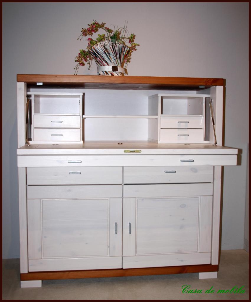 sekret r pc comp ter schrank laptop schreibtisch holz kiefer massiv wei kirsch ebay. Black Bedroom Furniture Sets. Home Design Ideas