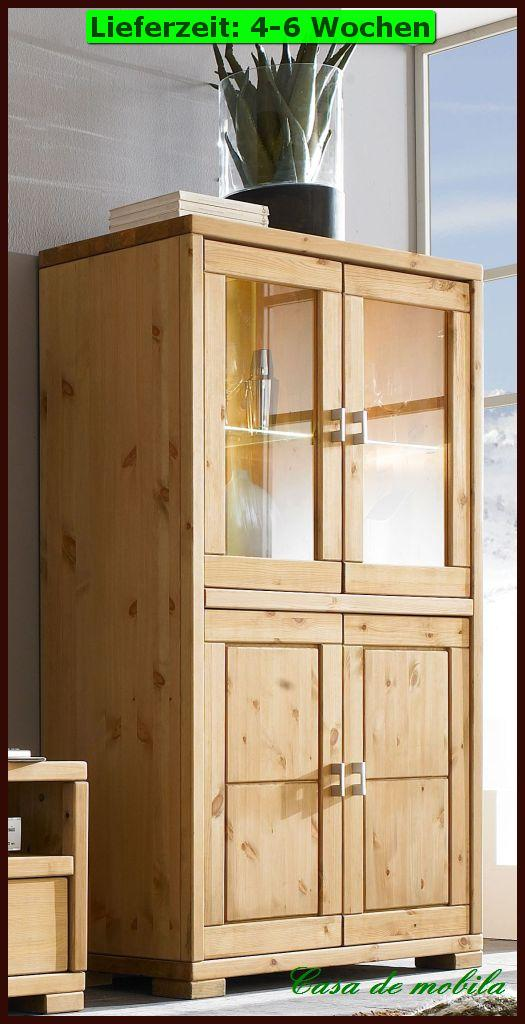 glas vitrine highboard vertiko kommode vitrinen schrank holz kiefer massiv wei ebay. Black Bedroom Furniture Sets. Home Design Ideas