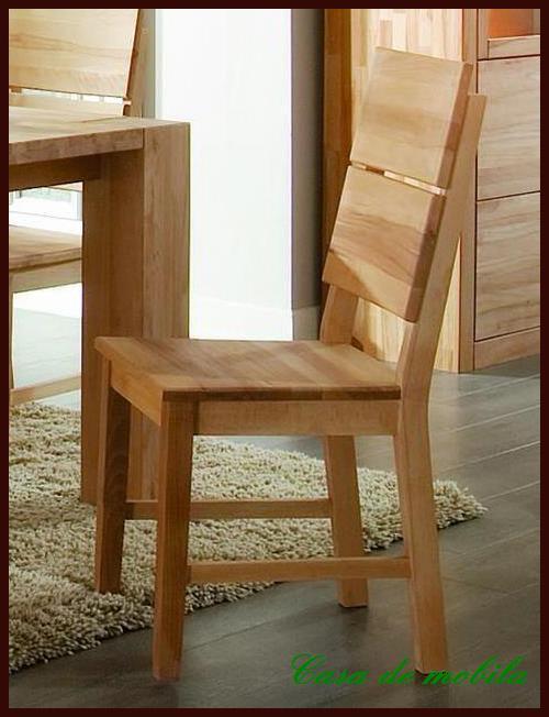 Massivholz Stuhl Set Stühle Holz Buche Massiv Geölt