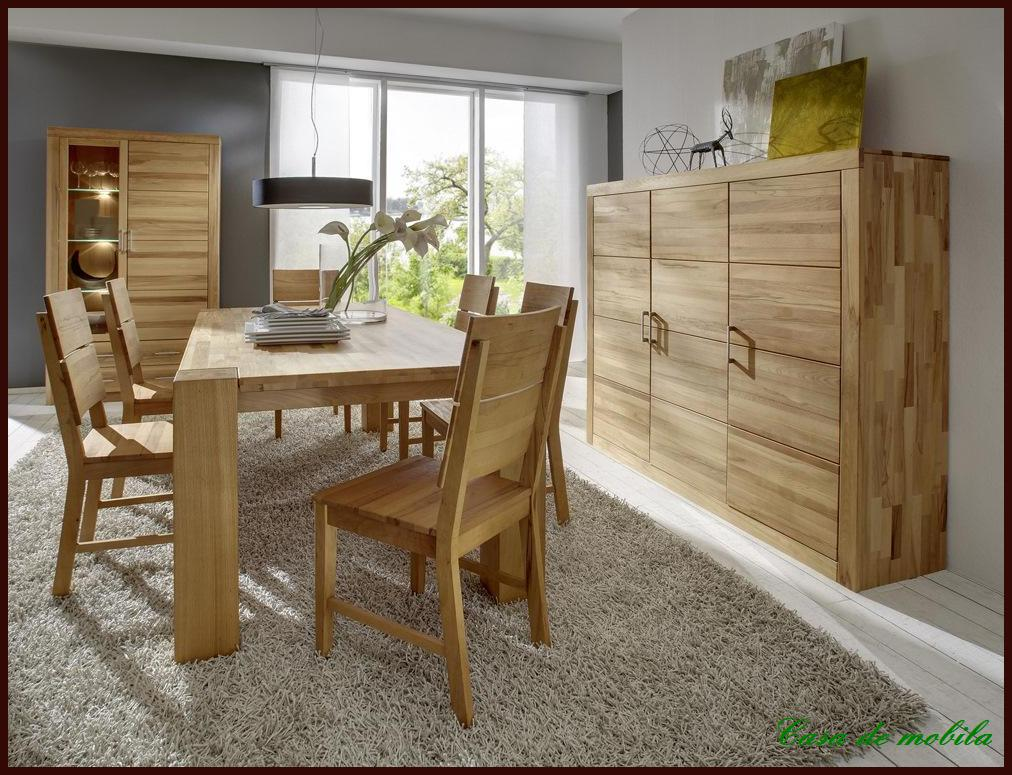 massivholz esszimmer komplett wildeiche massiv ge lt esszimmerm bel kernbuche ebay. Black Bedroom Furniture Sets. Home Design Ideas