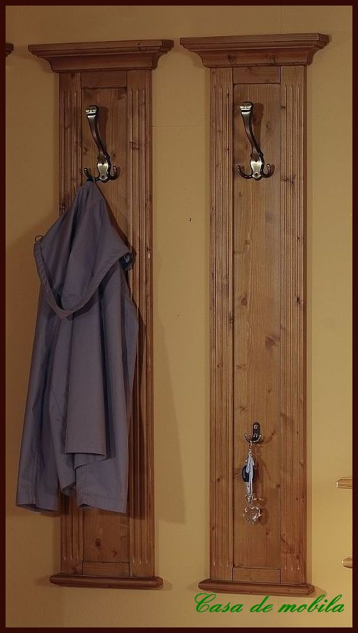 massivholz garderobenpaneel wandgarderobe flurgarderobe. Black Bedroom Furniture Sets. Home Design Ideas