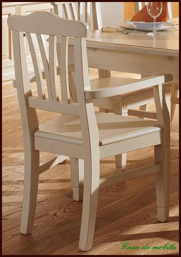 armlehnstuhl st hle mit armlehne k chen stuhl armlehn sessel massiv holz wei ebay. Black Bedroom Furniture Sets. Home Design Ideas