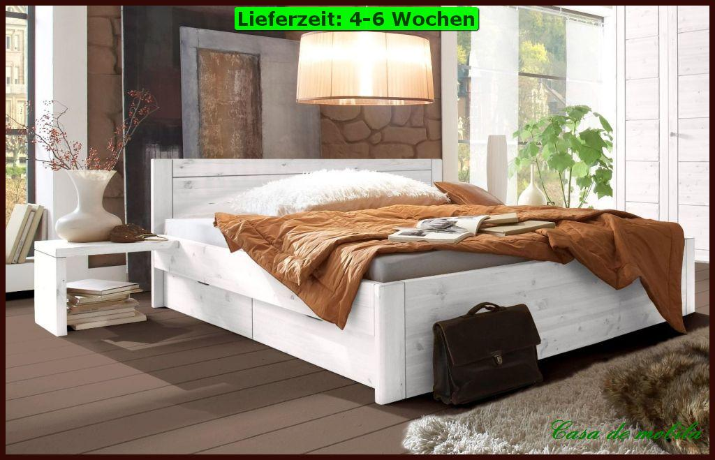 massivholz doppelbett schubladen bett schubkastenbett 160x200 holz kiefer massiv ebay. Black Bedroom Furniture Sets. Home Design Ideas