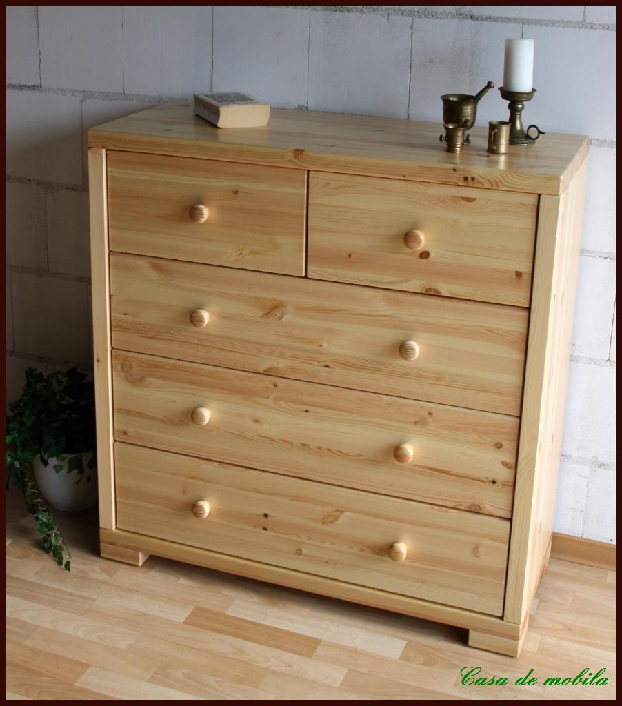 w scheschrank schubladenkommode kiefer massiv gelaugt ge lt rauna. Black Bedroom Furniture Sets. Home Design Ideas