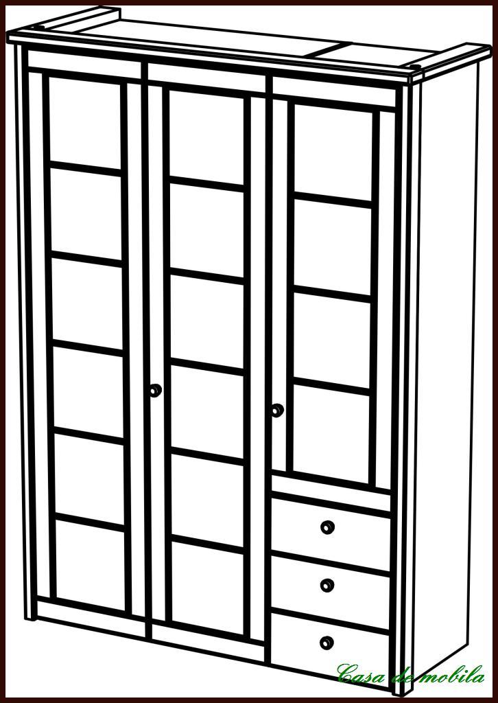 massivholz kleiderschrank kiefer gelaugt ge lt. Black Bedroom Furniture Sets. Home Design Ideas