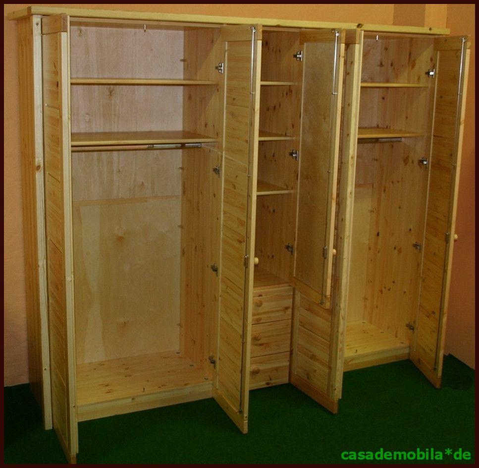 massivhol kleiderschrank kiefer schrank schlafzimmerschrank holz massiv lackiert ebay. Black Bedroom Furniture Sets. Home Design Ideas