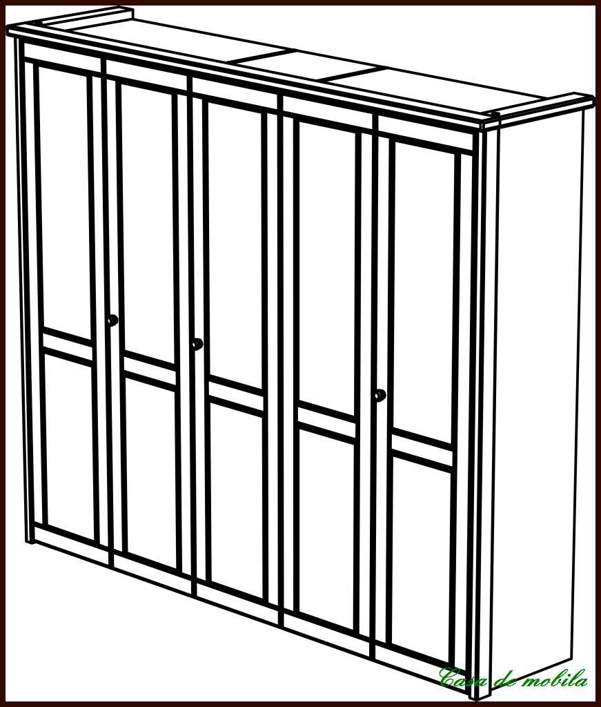 massivholz kleiderschrank kiefer gelaugt ge lt schlafzimmerschrank holz massiv ebay. Black Bedroom Furniture Sets. Home Design Ideas