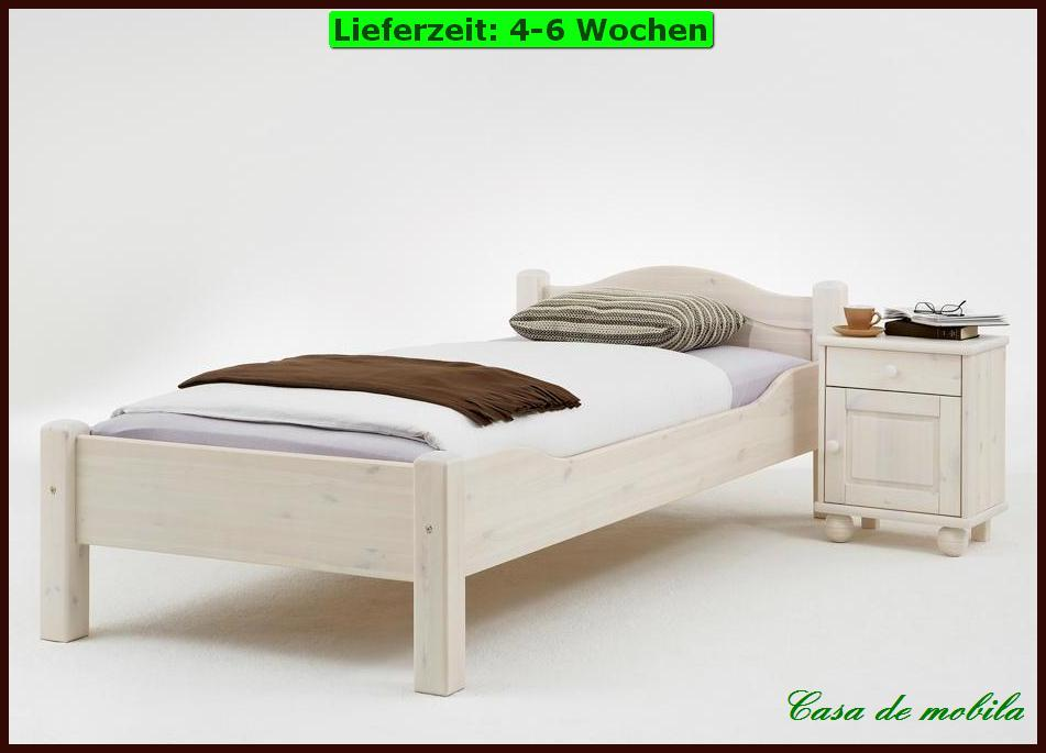 vollholz kojenbett bett mit schubladen 90x200 nils kiefer massiv gelaugt ge lt. Black Bedroom Furniture Sets. Home Design Ideas