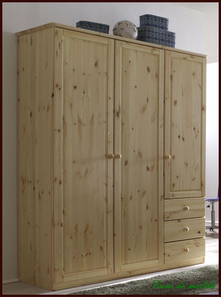 bettgestell doppelbett bettrahmen 140x200 roja kiefer massiv gelaugt ge lt. Black Bedroom Furniture Sets. Home Design Ideas
