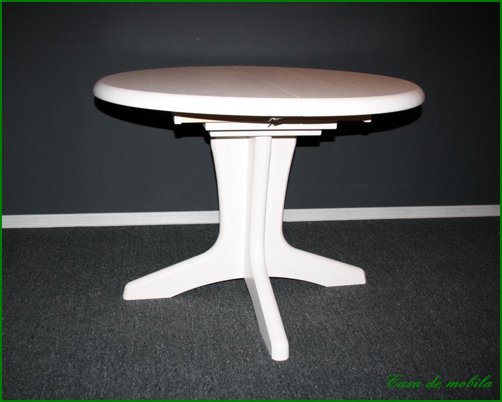 esstisch esszimmer k chen tisch rund ausziehbar holz kiefer massiv weiss wei ebay. Black Bedroom Furniture Sets. Home Design Ideas