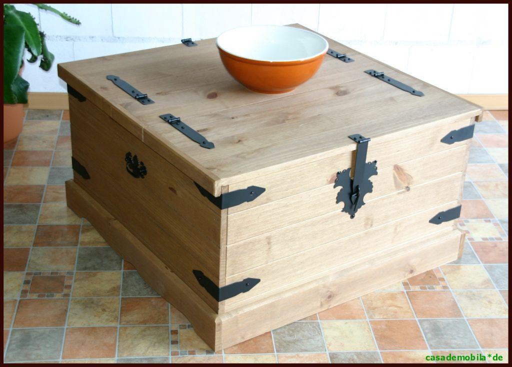 truhen tisch couchtruhe mexico m bel truhe schrank couchtisch holz pinie massiv ebay. Black Bedroom Furniture Sets. Home Design Ideas