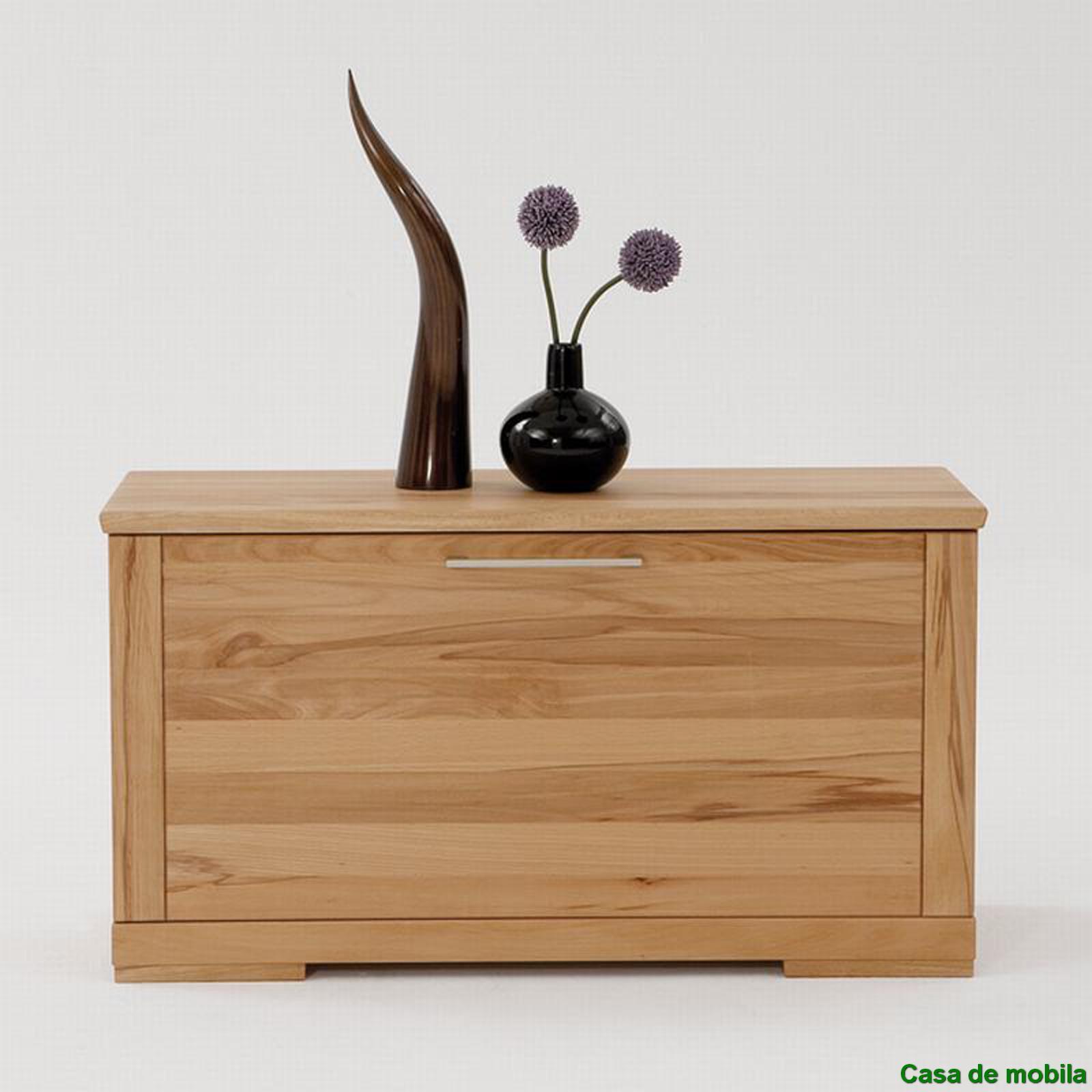 massivholz schuhtruhe holz buche massiv ge lt schuhkommode. Black Bedroom Furniture Sets. Home Design Ideas