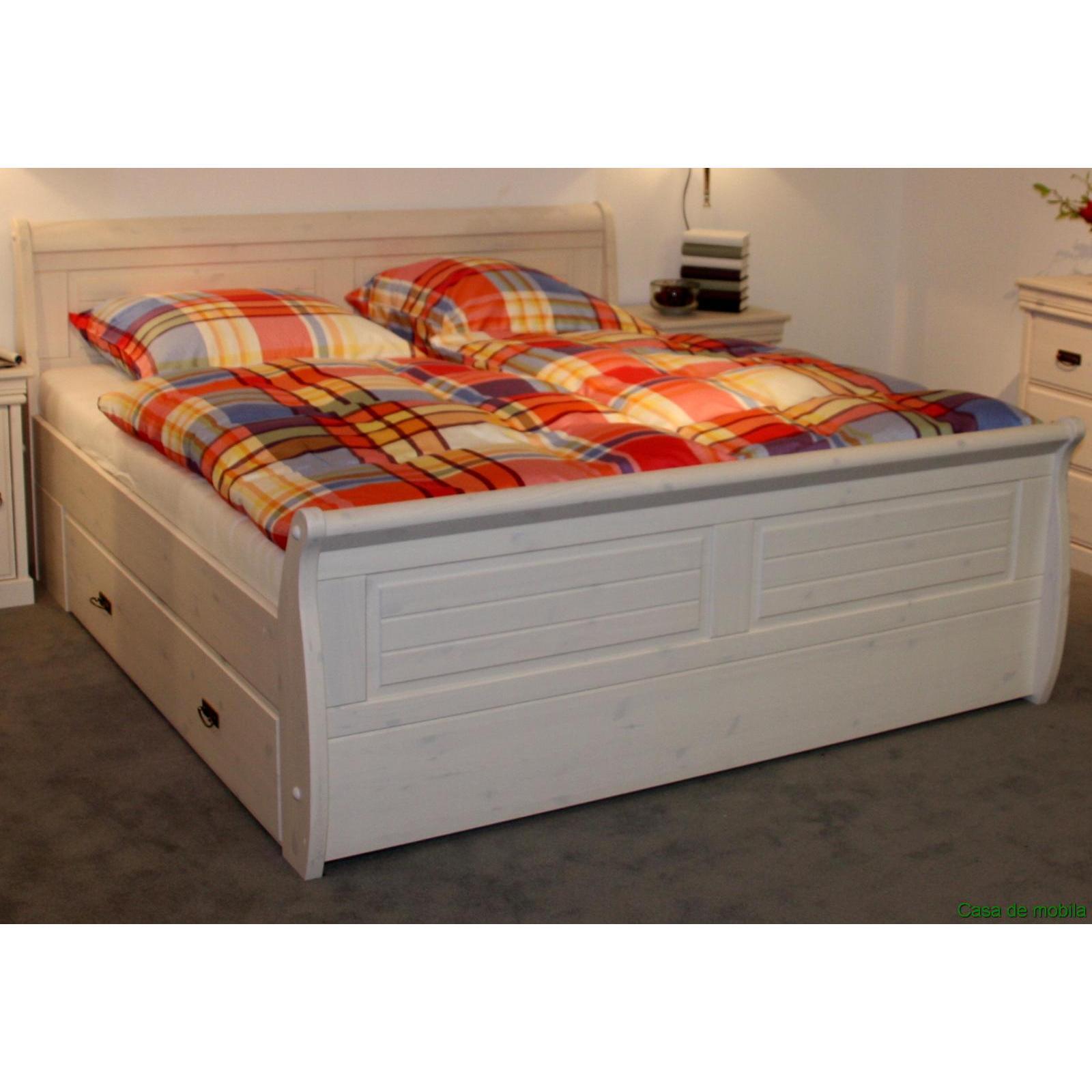 Schlafzimmer wei massiv