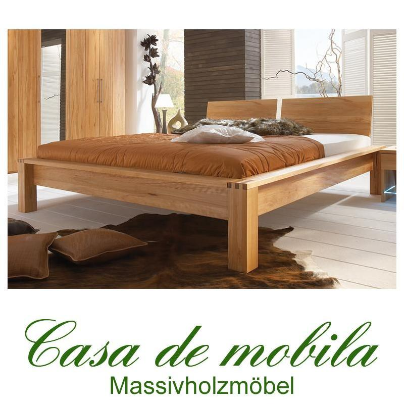 massivholz doppelbett holz bett kernbuche massiv ge lt futonbett ebay. Black Bedroom Furniture Sets. Home Design Ideas