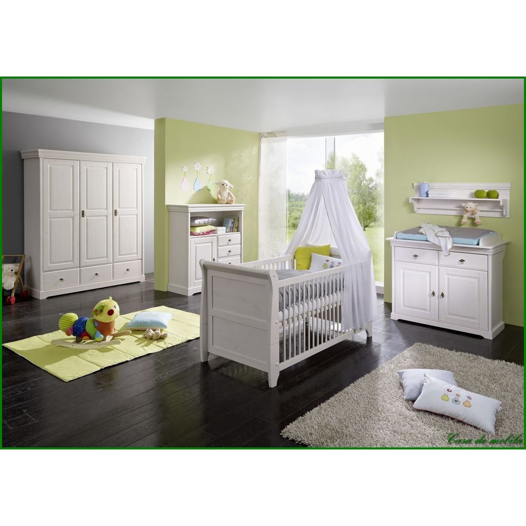 wandregal regal babyzimmer kinderzimmer massivholz holz kiefer wei gewachst ebay. Black Bedroom Furniture Sets. Home Design Ideas