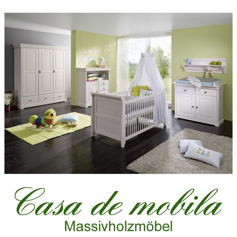 neu massivholz babyzimmer komplett kinderzimmer holz. Black Bedroom Furniture Sets. Home Design Ideas