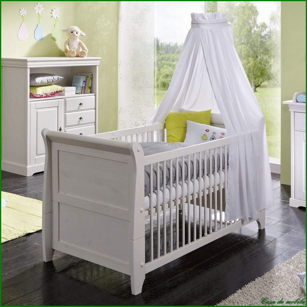 neu massivholz babyzimmer komplett kinderzimmer holz kiefer massiv wei lasiert ebay. Black Bedroom Furniture Sets. Home Design Ideas