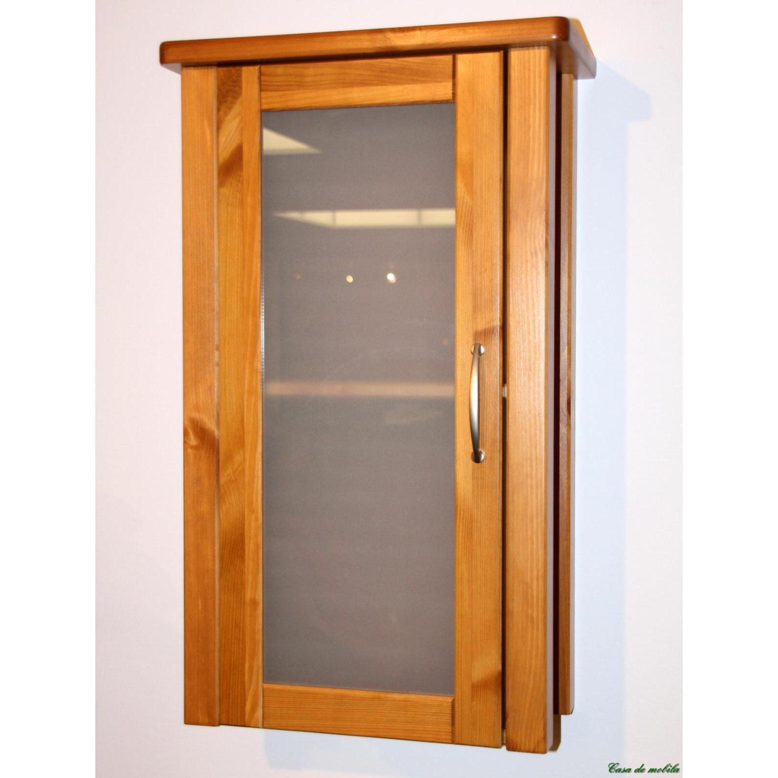 massivholz badm bel h ngeschrank badschrank kiefer massiv honig lackiert venedig. Black Bedroom Furniture Sets. Home Design Ideas
