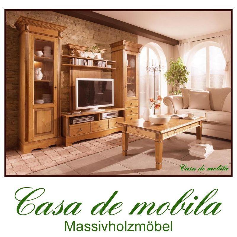 massivholz highboard vitrine holz kiefer massiv honig. Black Bedroom Furniture Sets. Home Design Ideas