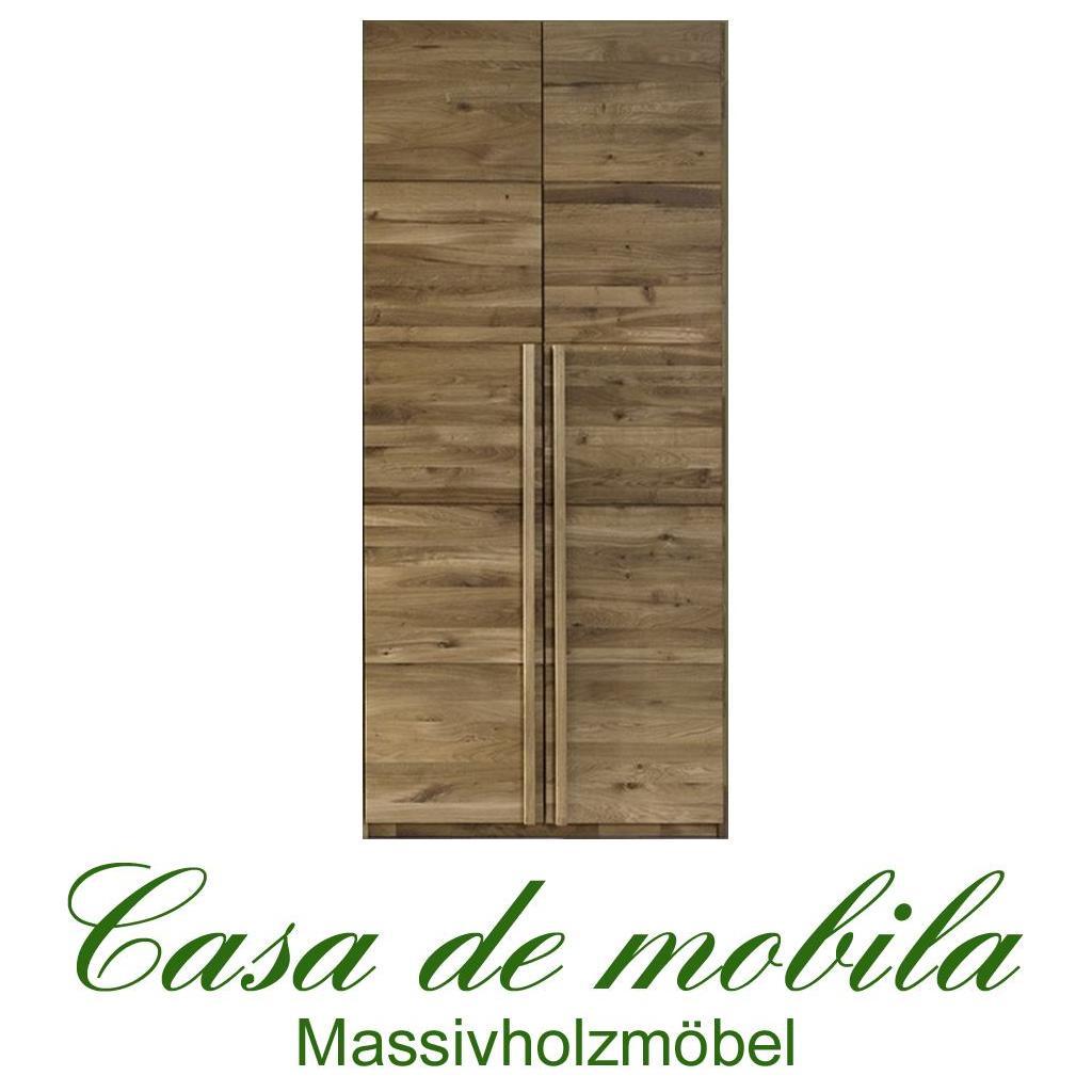 massivholz kleiderschrank eiche massiv natur ge lt front6 2 t rig wildeiche. Black Bedroom Furniture Sets. Home Design Ideas