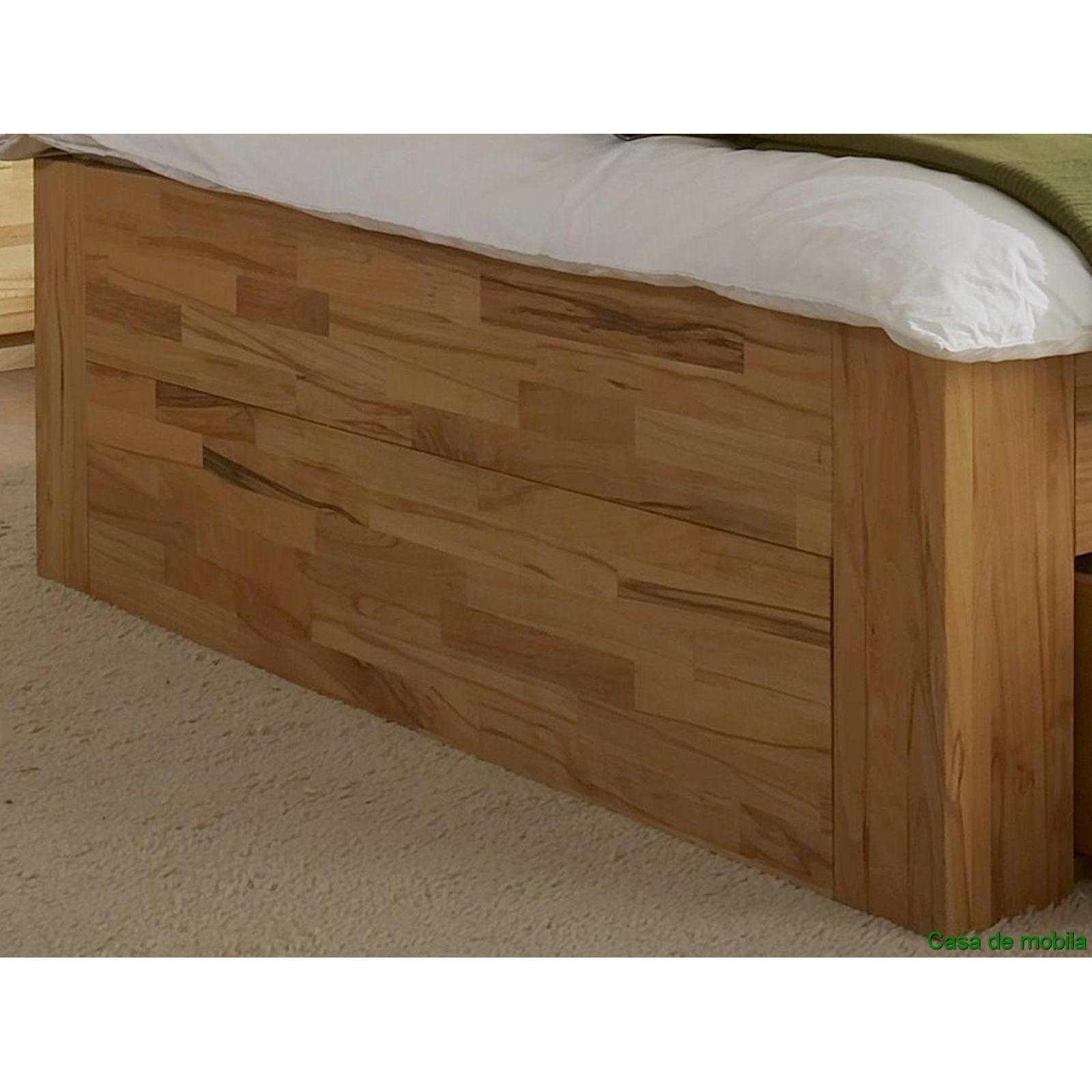 echtholz schlafzimmer komplett kernbuche buche massiv caro mit schubladen bett 180x200. Black Bedroom Furniture Sets. Home Design Ideas