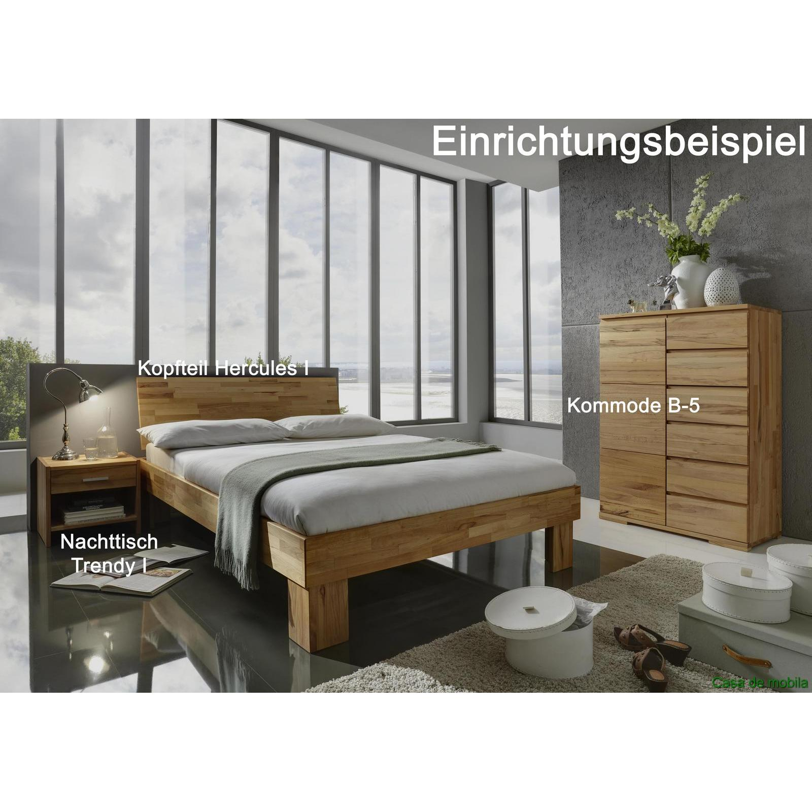 massivholz bett kernbuche massiv ge lt 100x200 holzbett jugendbett buchenbett ebay. Black Bedroom Furniture Sets. Home Design Ideas