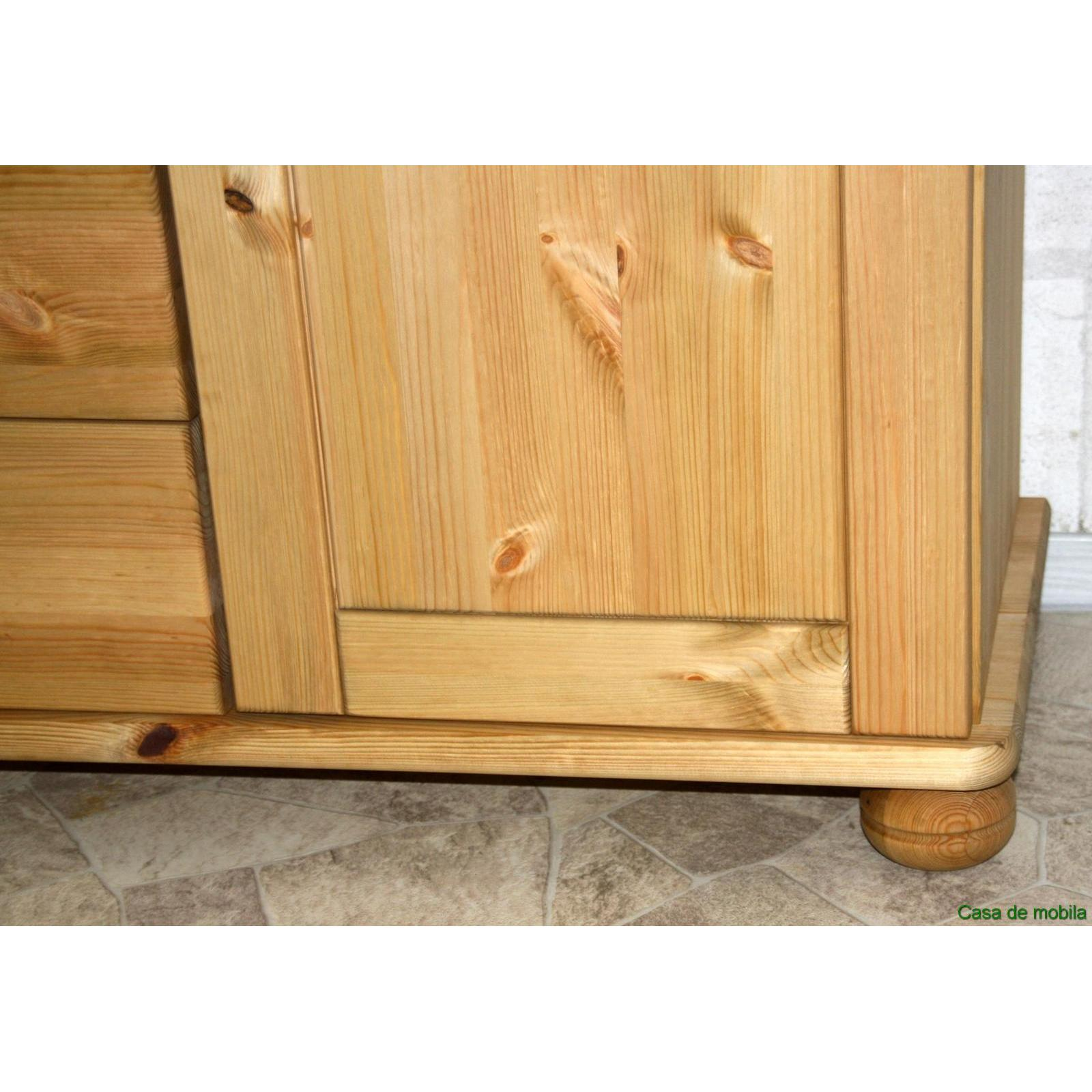 Sideboard kiefer natur gebraucht for Sideboard kiefer