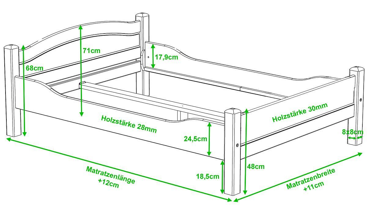 Bett Weiß 180X200 ist gut ideen für ihr haus design ideen