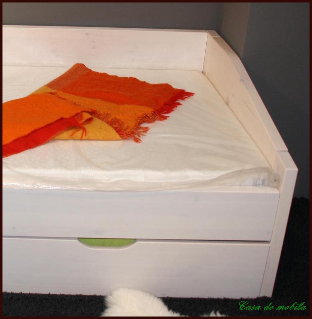 bett kiefer massiv natur lackiert ~ speyeder = verschiedene, Schlafzimmer entwurf