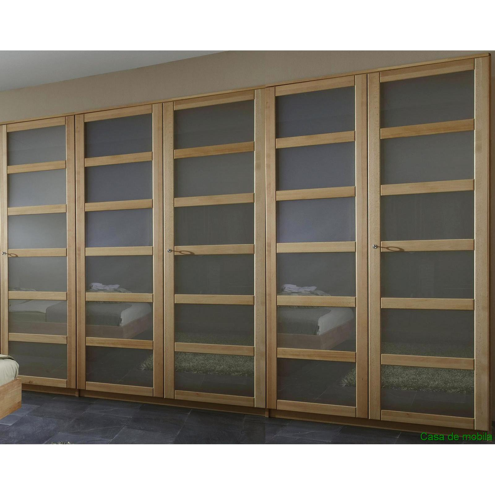 massivholz kleiderschrank 5 t rig schlafzimmerschrank buche massiv ge lt front3 ebay. Black Bedroom Furniture Sets. Home Design Ideas