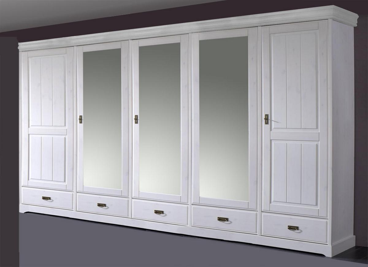 komplettes schlafzimmer weiss 4 teilig komplett holz kiefer neapel. Black Bedroom Furniture Sets. Home Design Ideas