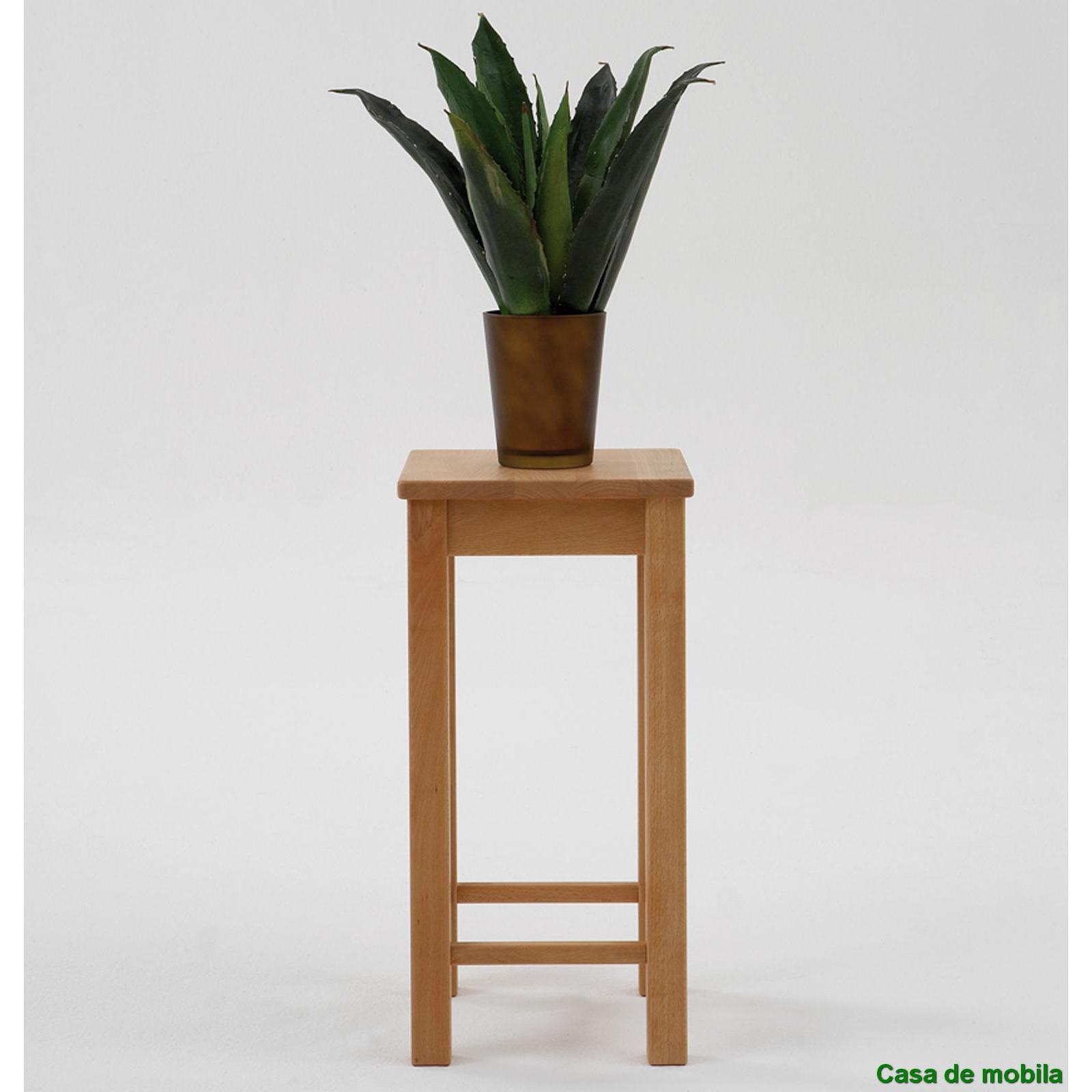 Blumenhocker blumentisch telefontisch beistelltisch holz for Beistelltisch ahorn