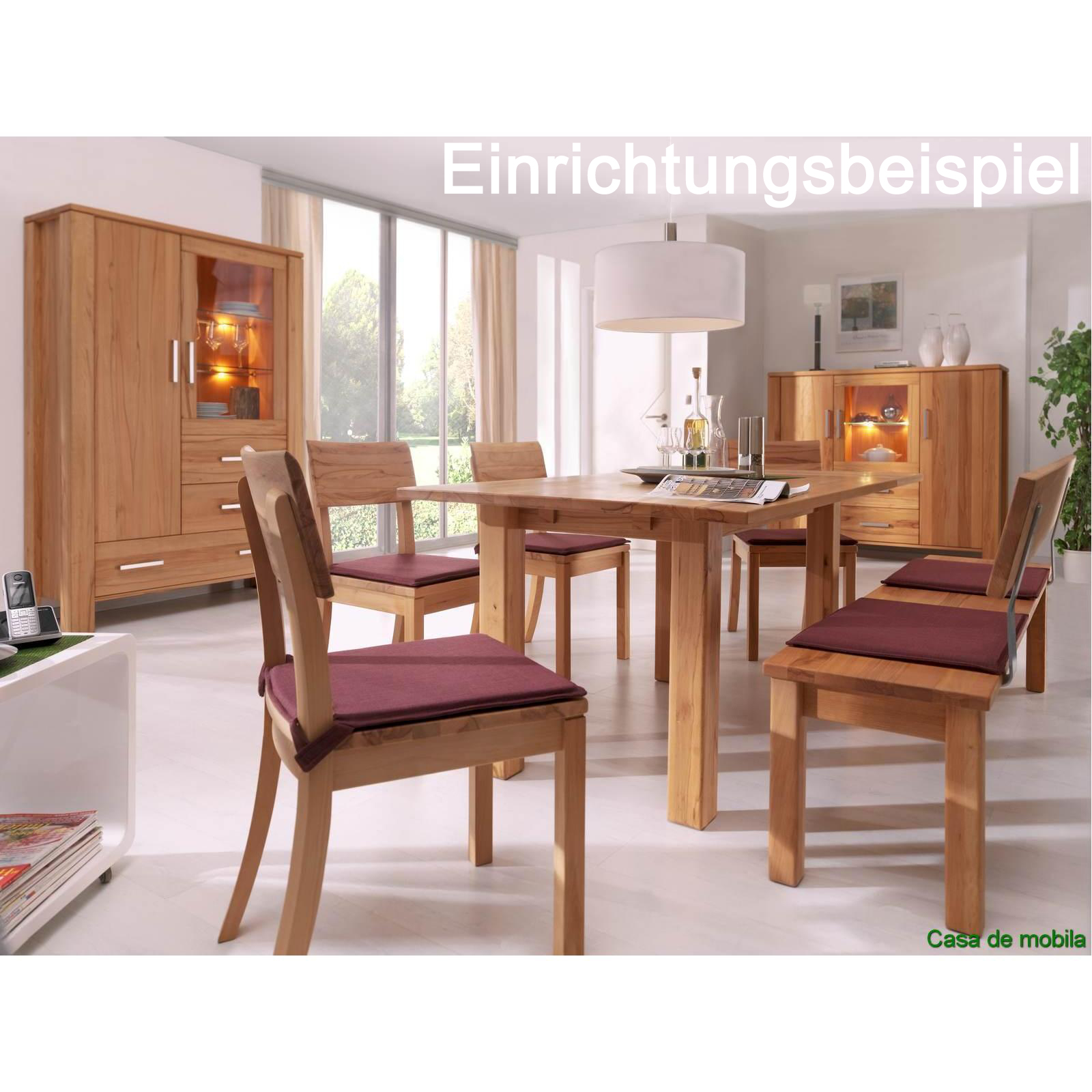 massivholz sitzbank mit r ckenlehne 200 cm buche massiv ge lt bank mit lehne ebay. Black Bedroom Furniture Sets. Home Design Ideas