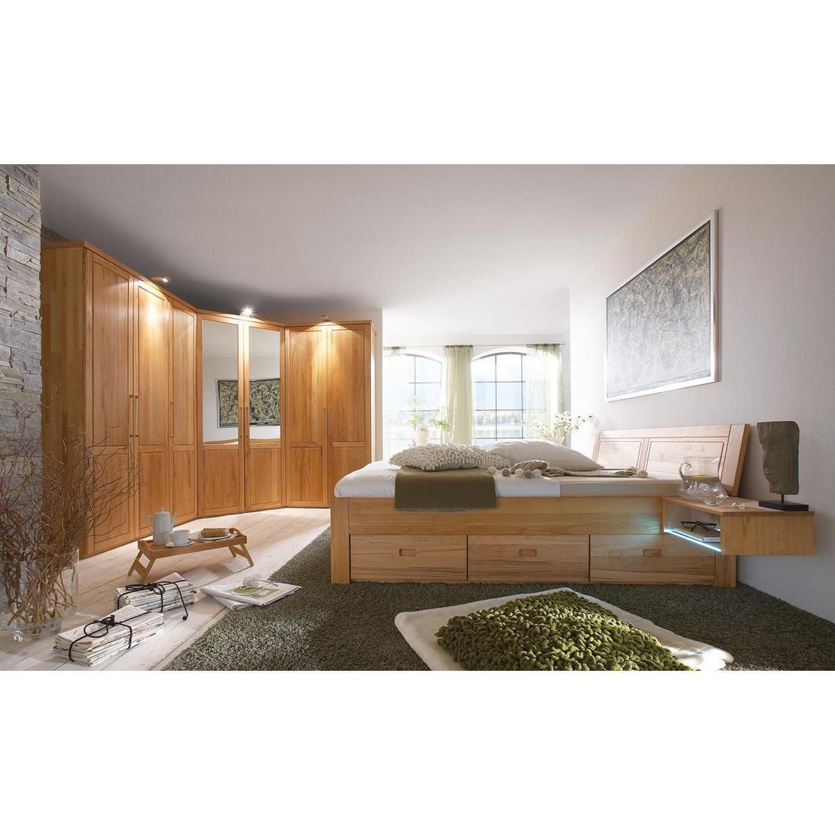 schlafzimmer 4 teilig palermo - Schlafzimmer Mit Eckschrank