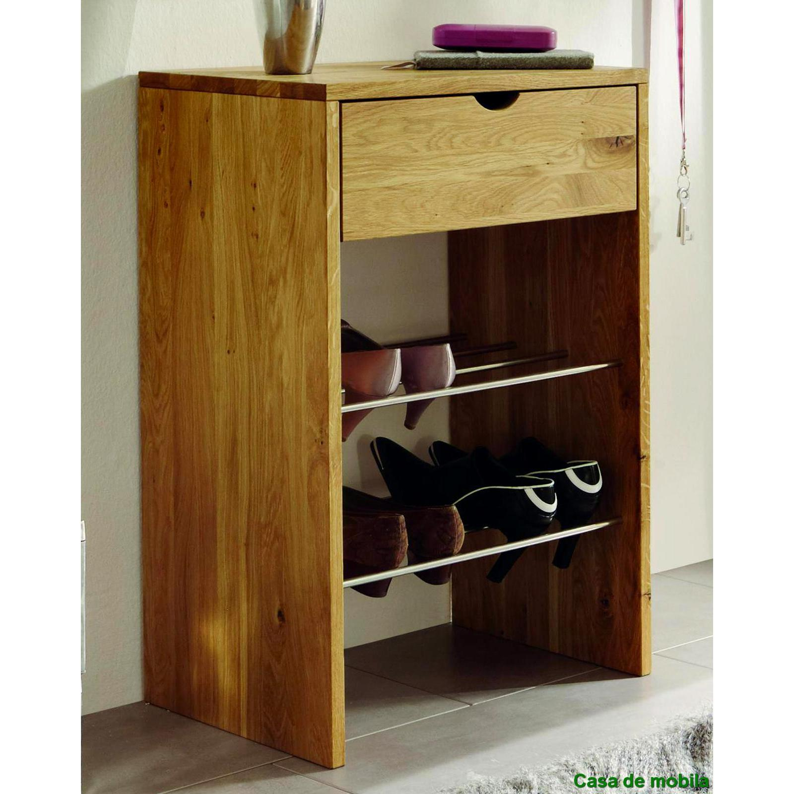 schuhschrank schuhregal flur kommode schuhkommode wilde iche massiv holz ge lt ebay. Black Bedroom Furniture Sets. Home Design Ideas