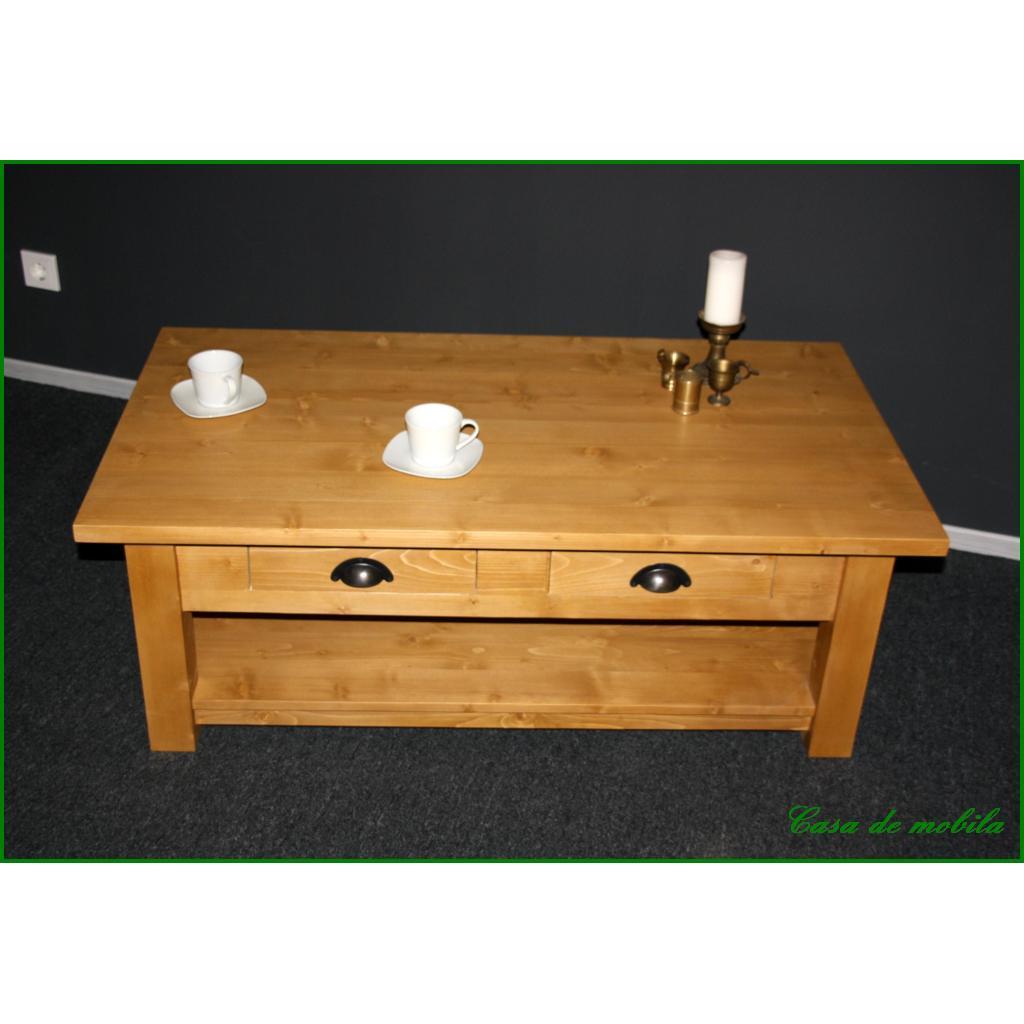 Couchtisch Wohnzimmertisch Sofatisch Tisch 120×65 Holz