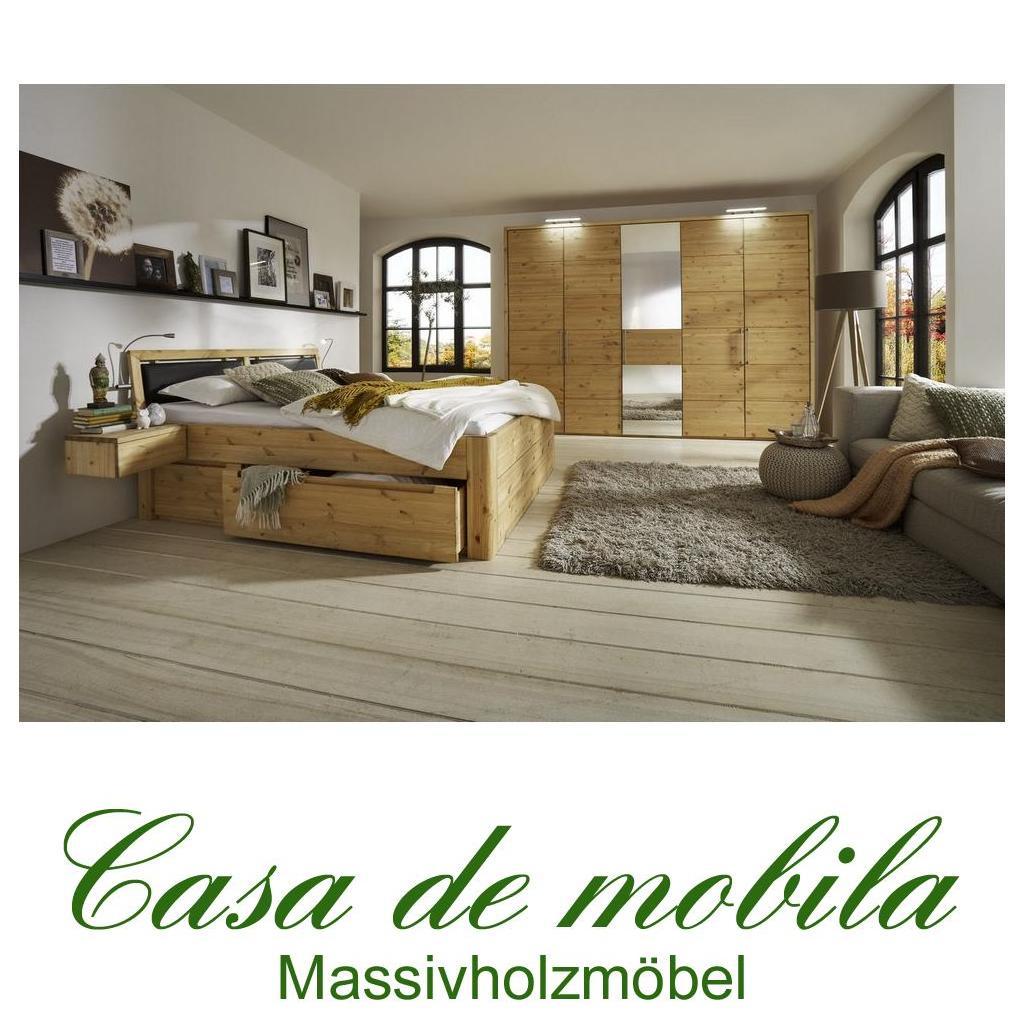 massivholz schlafzimmer komplett m bel set kate kiefer massiv wei pictures to pin on pinterest. Black Bedroom Furniture Sets. Home Design Ideas