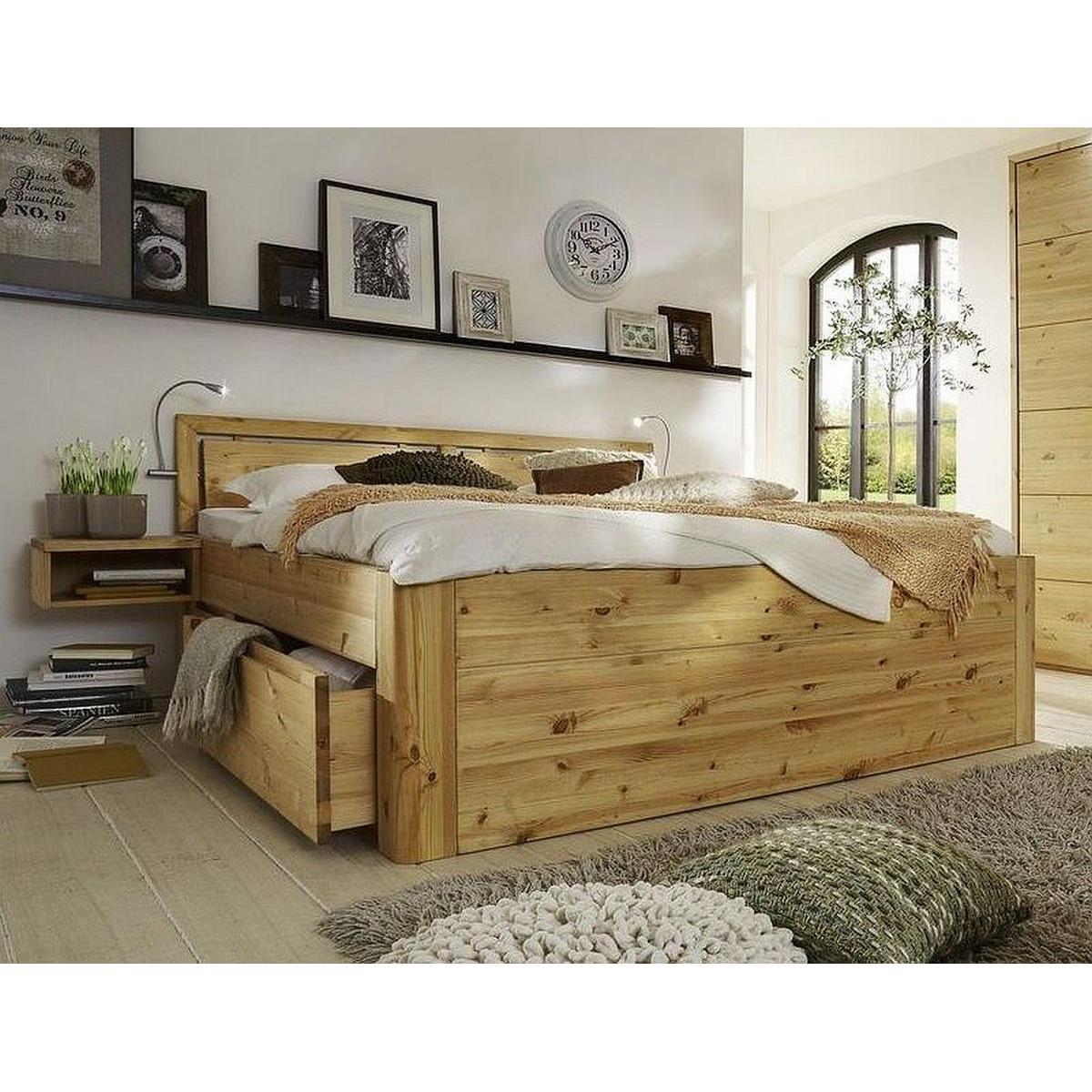 massivholz schlafzimmer 4 teilig gloria astkiefer massiv gelaugt ge lt. Black Bedroom Furniture Sets. Home Design Ideas