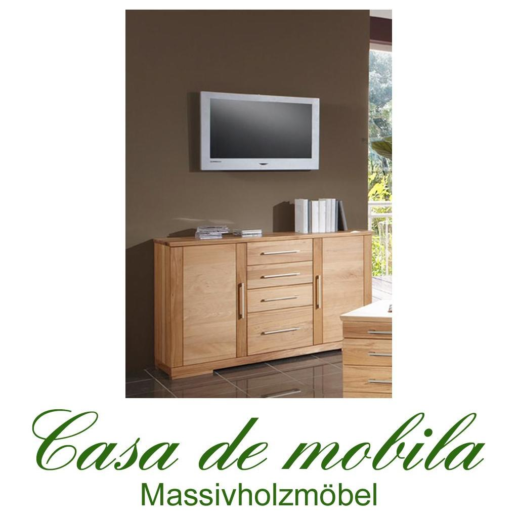 massivholz sideboard kommode anrichte schrank holz buche. Black Bedroom Furniture Sets. Home Design Ideas
