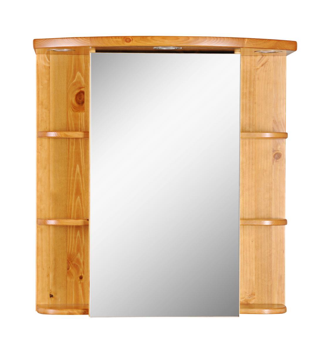 Holz badezimmer spiegelschrank ~ Massivholz Spiegelschrank Badspiegel ...