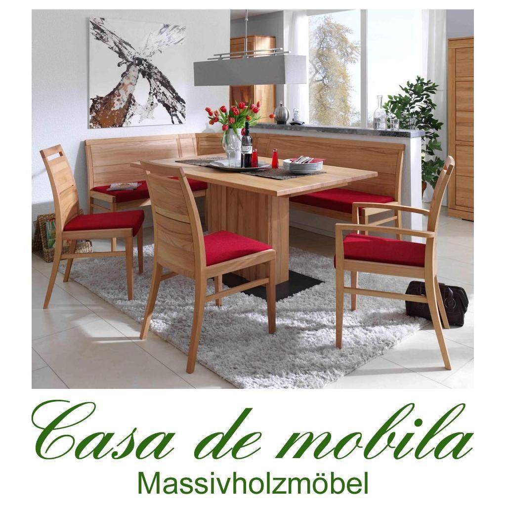 massivholz eckbankgruppe buche massiv natur ge lt casera. Black Bedroom Furniture Sets. Home Design Ideas