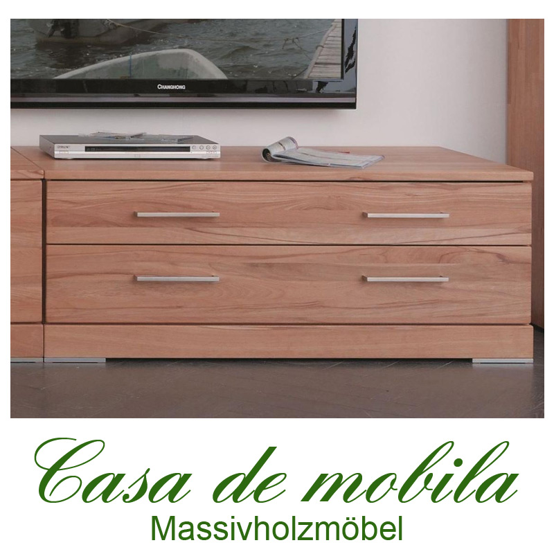 massivholz tv lowboard buche massiv natur ge lt casera tv kommode i kernbuche rotkernbuche. Black Bedroom Furniture Sets. Home Design Ideas