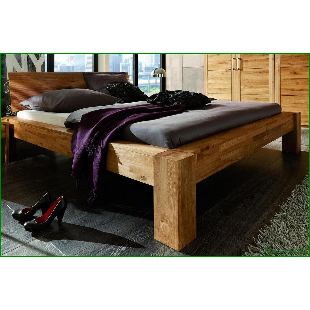 echtholz balkenbett eiche massiv ge lt hercules doppelbett 140x200 wildeiche holzbett. Black Bedroom Furniture Sets. Home Design Ideas