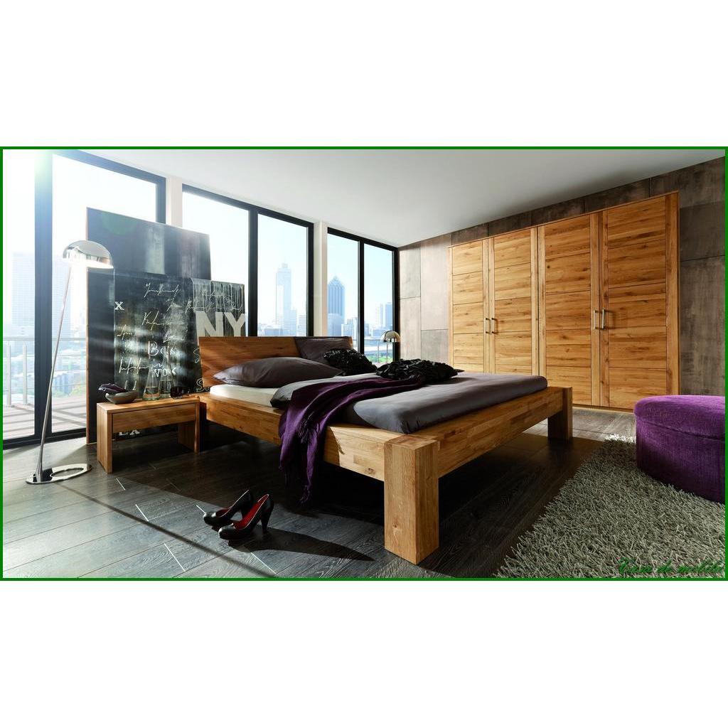 echtholz balkenbett eiche massiv ge lt hercules doppelbett 140x200 wildeiche holzbett. Black Bedroom Furniture Sets. Home Design Ideas