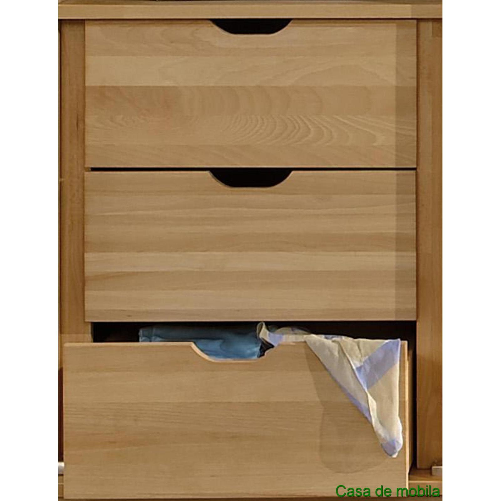 massivholz kleiderschrank 2 t rig w sche schrank holz buche massiv wei front2 ebay. Black Bedroom Furniture Sets. Home Design Ideas