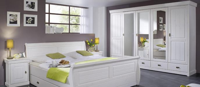 Rom schlafzimmer aus massiver kiefer - Schlafzimmer rom ...
