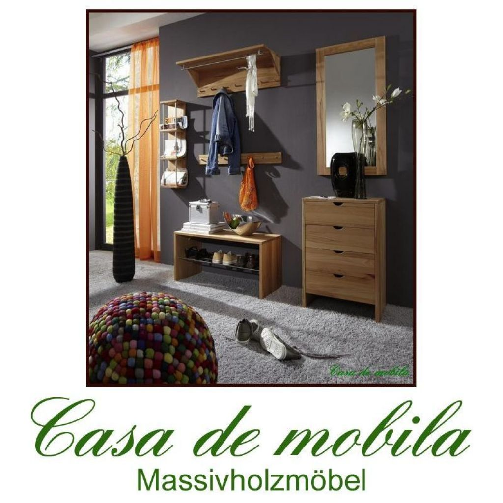 garderobe set buche sonstige preisvergleiche. Black Bedroom Furniture Sets. Home Design Ideas